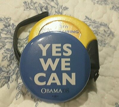 """Obama """"Yes we can"""" Campaign  Badge Original  - History - Americas"""