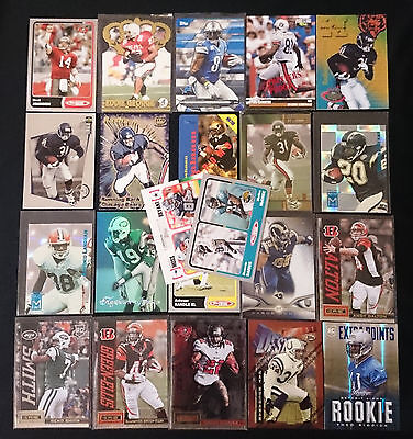 22 x NFL Football Trading Cards Inserts 1994 - 2014 Bulk Assorted Rare