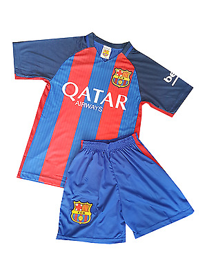 Messi football shirt Jersey Barcelona 2016-2017 home kit for kids