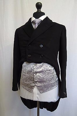 Men's Vintage Bespoke 1930's Morning Coat Swallow Tail Tailcoat Size 36 SS9559
