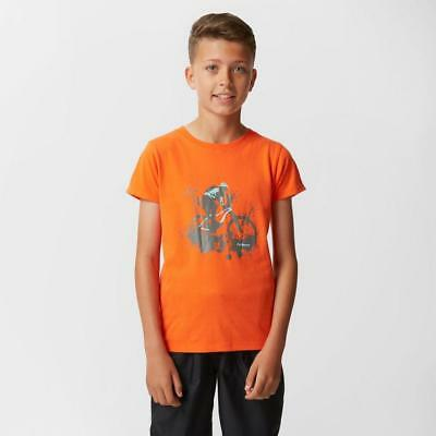 Orange Peter Storm Boys' Downhill T-Shirt Outdoor Clothing One Colour
