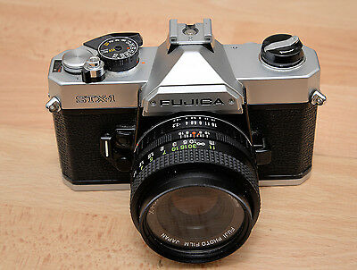 Fujifilm Fujica STX-1 35mm SLR Film Camera with 55mm Lens