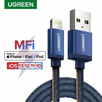 Ugreen MFi Lightning 8 Pin to USB Cable Fast Charger Data Cable For iPhone X 8 7