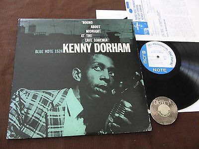 LP Kenny Dorham 'Round about Midnight at the Cafe Bohemia Japan 1983 | M-