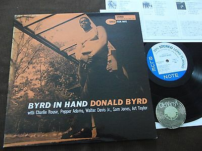 LP Donald Byrd Byrd In Hand Japan 1992 | M-