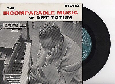 Art Tatum -Incomparable Music Of Art Tatum -Hmv Extended Player