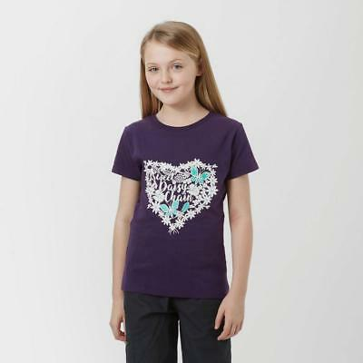 Purple Peter Storm Girls' Daisy Chain T-Shirt Outdoor Clothing One Colour