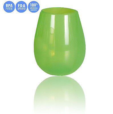 Silicone Wine Glasses Cup Unbreakable Drinking Cup Flexible Beer Cup