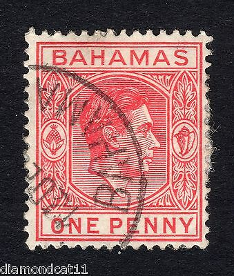 1938 Bahamas 1d Red SG150 Good Used R12327