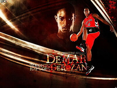 D0654 Demar Derozan Raptors NBA Wall Print POSTER UK