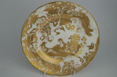 "Superb ROYAL CROWN DERBY 'GOLD AVES' 8.5"" SALAD PLATE 1st Quality 10 Available"