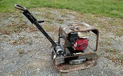STONE Reversible Honda 9 hp Engine Plate Trench Compactor