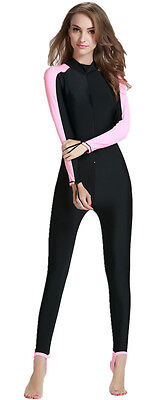 diving Swimsuit UPF50+ Sun Protection Women's Fitness Surfing Suit Long Sleeve