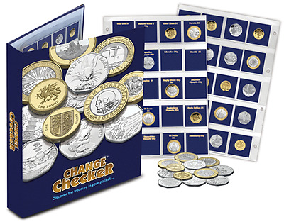 Official Change Checker Collector's Album