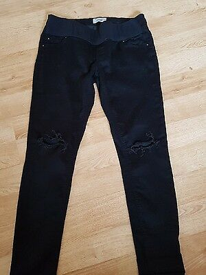 Super Skinny New Look Maternity Jeans Size 14