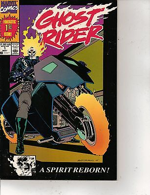 Ghost Rider #1(2nd Print) & 10 (May 1990, Marvel)