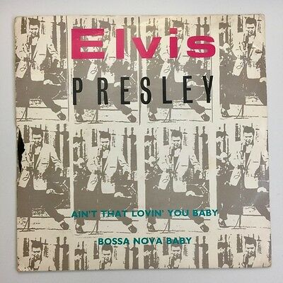 Elvis Presley - Single - Ain'T That Loving You Baby