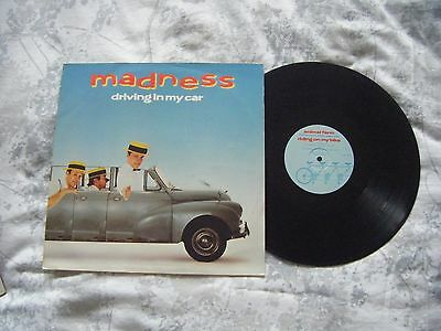 "Madness - Driving In My Car Vinyl 12"" Single"