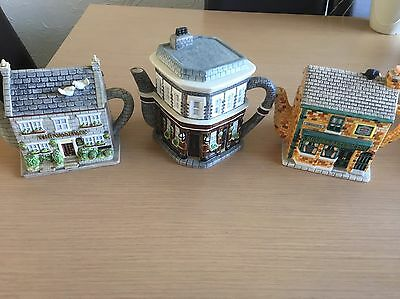 Eastenders Coronation St. Emmerdale Original Official Collectable Teapots