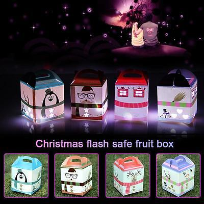 Personalised Christmas Gift Boxes Favour Present Craft Shiny Andguo Hot Random