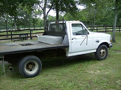 1997 Ford F-350  1997 Ford F350 Turbo Diesel Flatbed