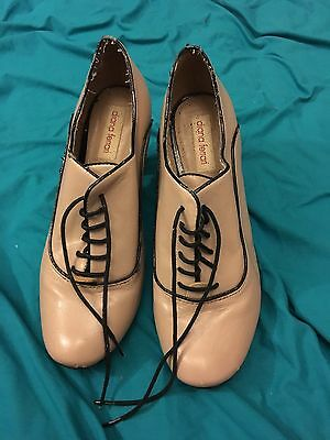 Ladies Lace Up Heels, Size 8