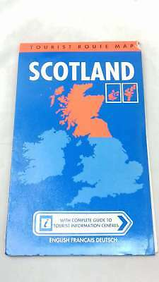 Great Britain Tourist Route Maps: Scotland by John Bartholomew and Son, Map, 198