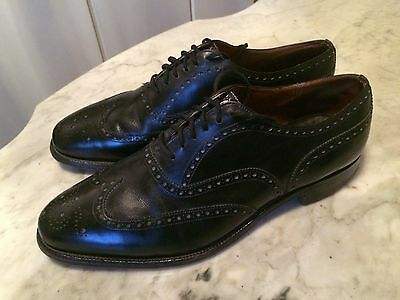 vintage DACKS ? '80 wingtip oxford rockabilly costume mens shoes sz 11.5D