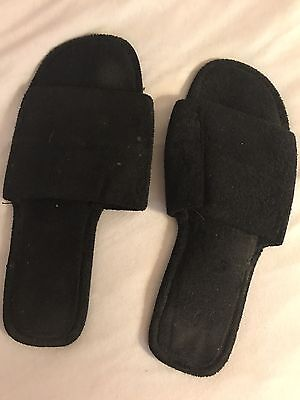 Well Worn Used Women's Slippers Size 7-8