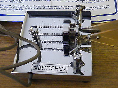 Bencher Paddle Cw Key By-2 Chrome Base