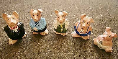 Wade Natwest Pigs - Complete Set of 5