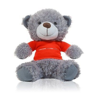 TEDDY Bear Formel Formula One 1 Vodafone McLaren Mercedes Teddy F1 Grau Gift AT