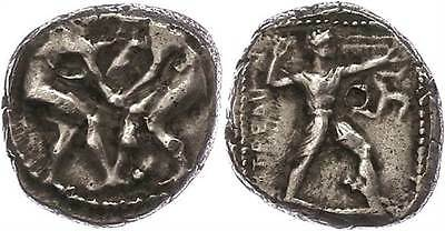 41985) Pamphylien, Aspendos, Stater (10,85g), ca. 4./3. Jhd v. Chr., ss