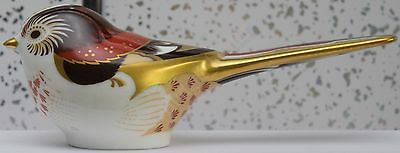 New Genuine Royal Crown Derby Paperweight Collectable Nightingale Bird