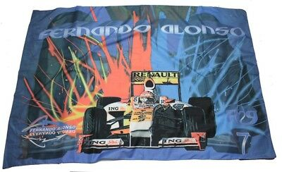 FLAG Flagge Formel Formula One 1 Renault ING F1 Team NEU Alonso 1 AT