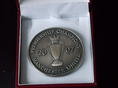 Manchester United 2007 Premiership Champions Medal