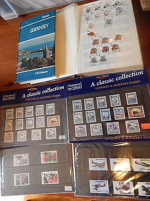 Guernsey Large Collection Umm Mm Fine Used Book 160 First Day Covers 11 Pictures