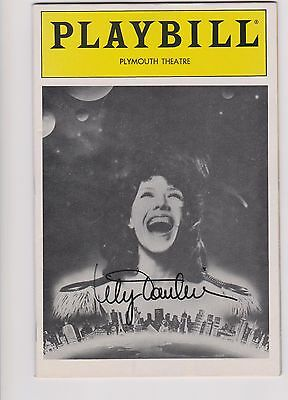 LILY TOMLIN- signed on front of a 68 page PLAYBILL