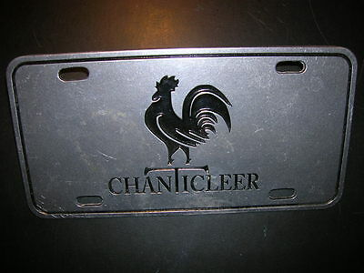 """chanticleer"" Pewter Vanity License Plate"