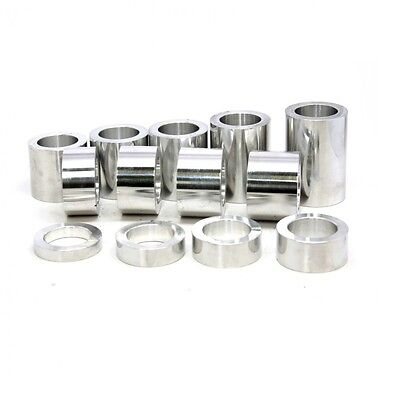Wheel Axle Spacer Kit I.D. 17 mm – O.D. 1-1/8 inch (1.1250) – 13 Spacers