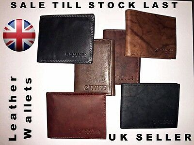 Leather Wallet Bifold Trifold High Quality With Smooth Finishing Top Quality UK