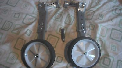 "Adult Bike Stabilisers - Fits 20"" to 26"" wheels - used once"