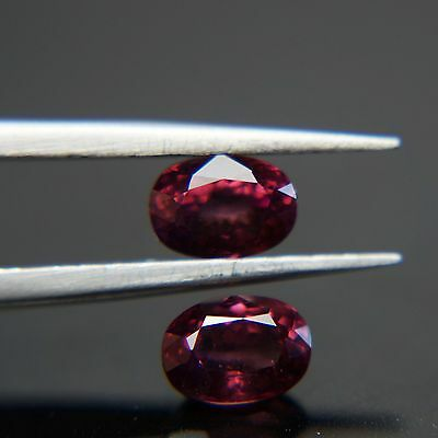 Lot- 2.63 Ct(Total)-2 Pcs Natural Untreated Color Change Malaya Garnet(Ng-13)