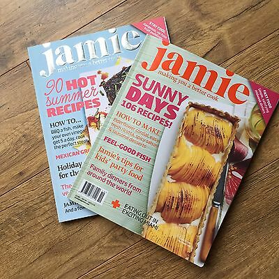 Jamie Oliver Magazine May / June / July Summer BBQ Recipes - Issues 19 & 20 2011