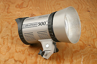 Elinchrom 500 Monolight Flash System w/Power #1