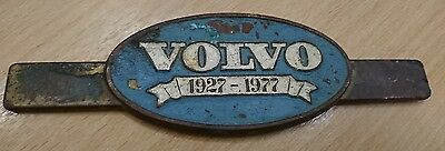 VINTAGE 1970s VERY RARE VOLVO BADGE 1927 -  1977
