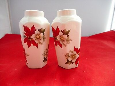 """TWO PALISSY""""ROYAL COLLECTION""""VASES(9cms high)"""