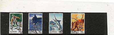 Sg 723-6 Australia Fishing Fine Used Set