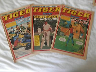 TIGER and SCORCHER 3 issues (1979)