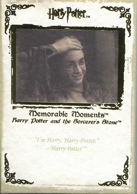 Harry Potter Memorable Moments Complete 72 Card Base Set